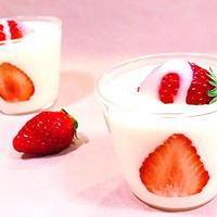 苺練乳パンナコッタの簡単人気レシピ