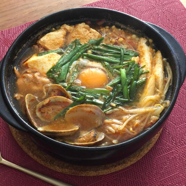 実はとても簡単でした!あったまる〜『スンドゥブチゲ』 #簡単レシピ #韓国料理