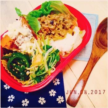 ★お弁当の日⑤〜メカジキフライ弁当〜☆