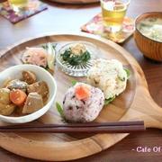 常備菜の残りで☆和ンプレート
