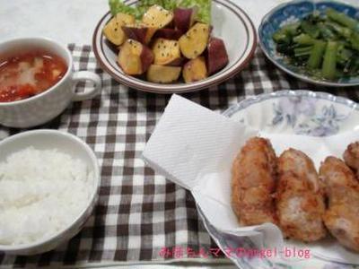☆今日の夕食~高野豆腐でトンカツ☆
