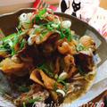 炊飯器で鶏皮とレバーの煮物 by Misuzuさん