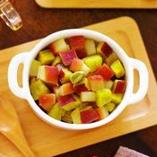 カルダモン香る★りんごとさつまいものレンチン!シロップ煮