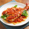 ウルメイワシのトマト煮