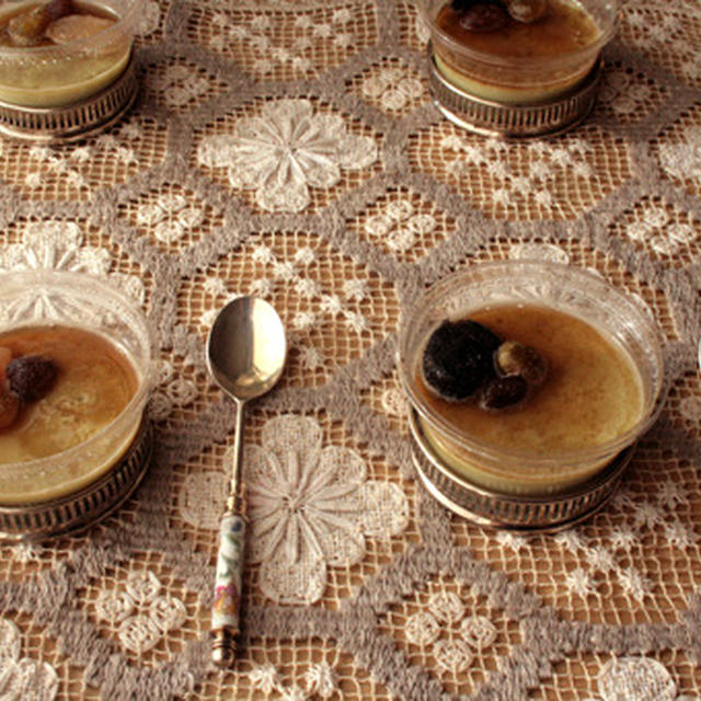★☆★抹茶豆乳プリン・黒糖シロップかけと、焼きドーナツ★☆★