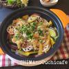豚肉とキャベツと根菜の塩レモン蒸し鍋