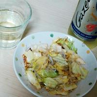 しらすとキャベツのにんにく醤油~「ガゼラ」に合う魚介レシピ