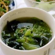 レタスはスープが正解!手軽に野菜を食べよう♪