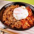 ウマ辛ガッツリ食べたい!肉味噌キムチ丼 by 銀木さん