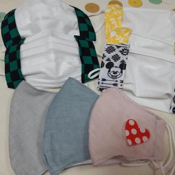 手作りエアリズムマスク☆