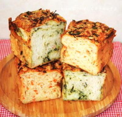 ほうれん草は〇〇のお湯で茹でる!? ほうれん草と人参のオニオンチーズパン