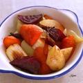 クローブの香りの焼き野菜