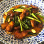 recipe☆カナームークロップ(青菜と揚げ豚肉の炒め物)