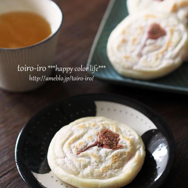 フライパンで簡単!桜の焼き餅