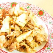 旨味たっぷり☆たけのこと豚肉の生姜焼き by kaana57さん
