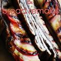 林檎とパンのキャラメリゼ