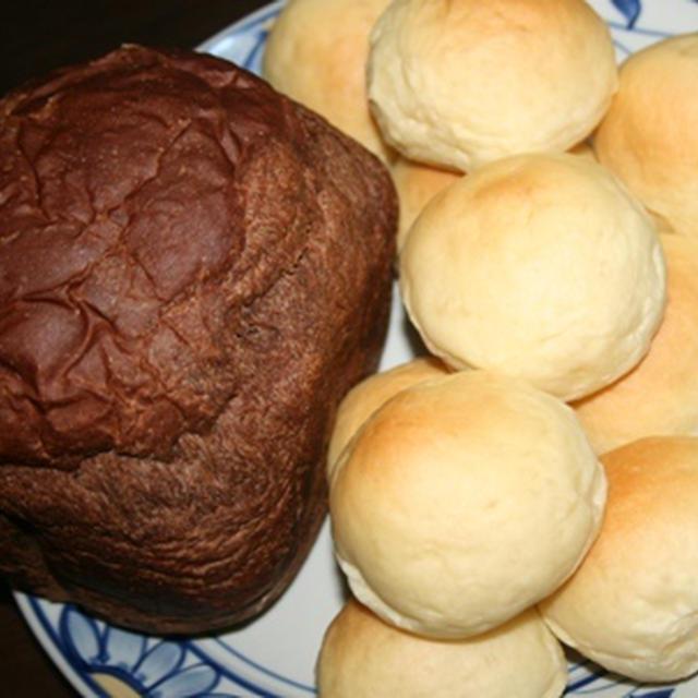 7月16日  チョコレートパン&バターロール