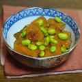 南瓜と枝豆のおかか煮 by KOICHIさん