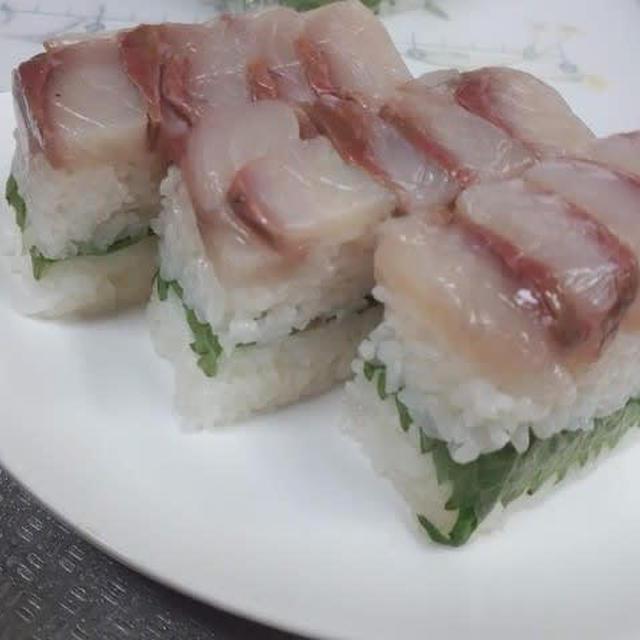 ヤズの押し寿司♪