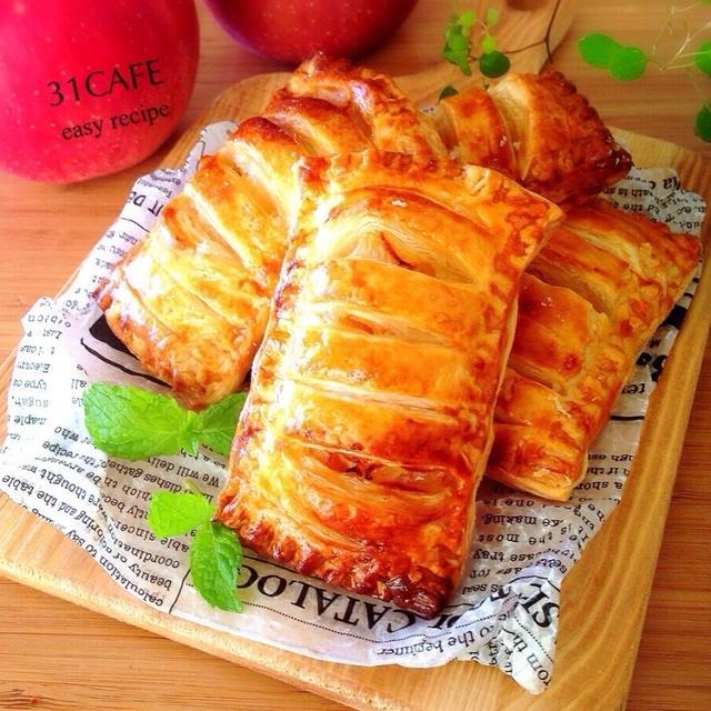 ♡パイと林檎のマリアージュ♡簡単基本のアップルパイ♡