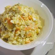 簡単に作れるもう一品☆ローズマリー風味の根菜コロコロサラダ☆