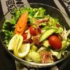 セロリと生ハムのタイ風サラダ