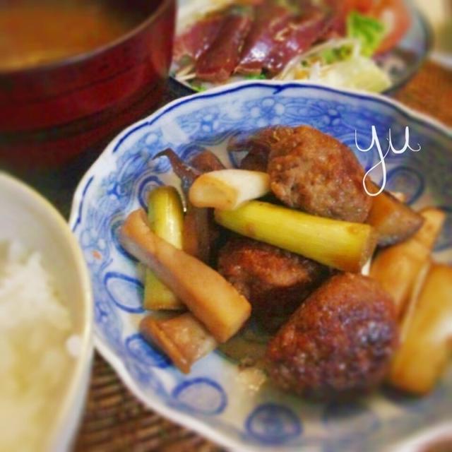 ザクロ酢肉団子