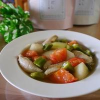 冬瓜と手羽元のスープ煮