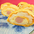 おさかなソーセージのチーズ入り厚焼き玉子のレシピ