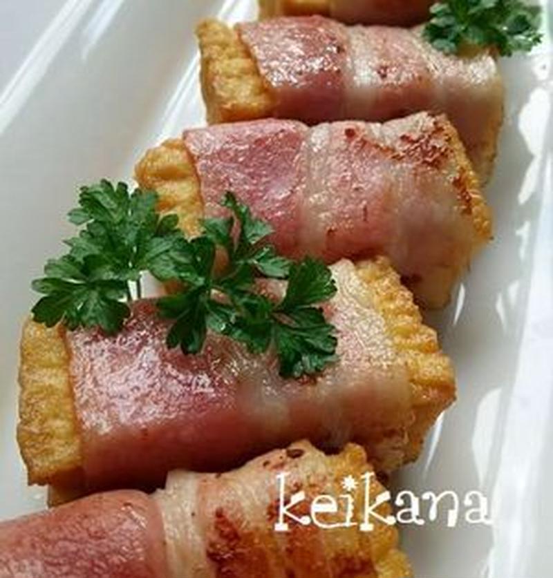 お弁当の王道おかず♪簡単なのにおいしい「ベーコン巻き」レシピ