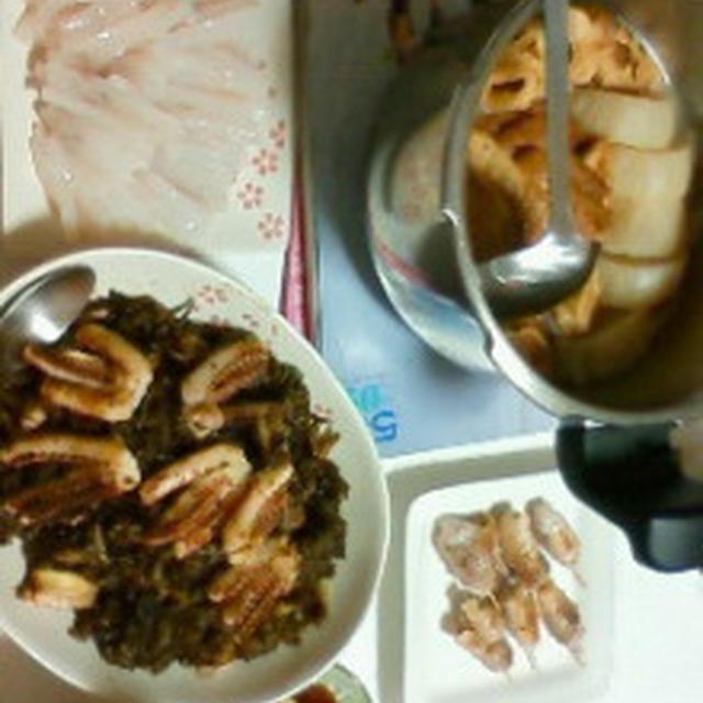 黒飯とおでん(^・ェ・)