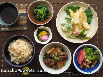 【天ぷら】との組み合わせバッチリ☆主食・小鉢のメニュー献立21選