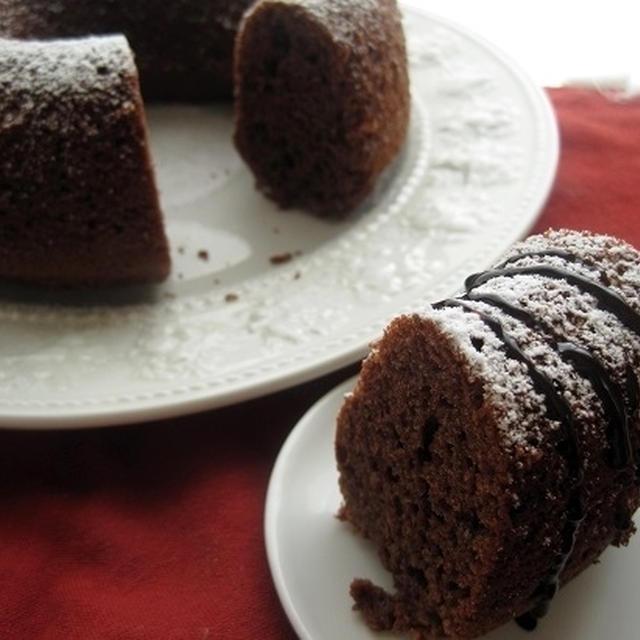 しっとりチョコエンゼル型ケーキ