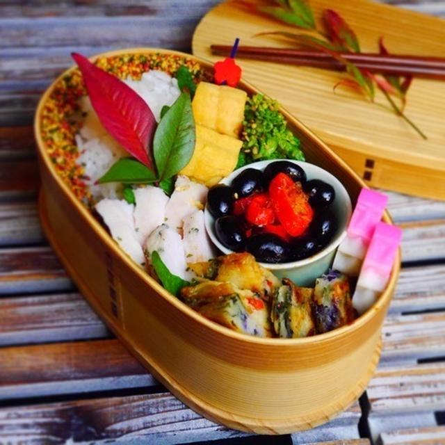 野菜を楽しむ*水曜日の旦那くん弁当