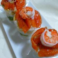すし酢で簡単☆カップ寿司