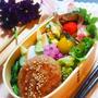 和風ハンバーグ弁当と中華ランチ