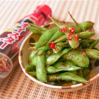 最高で簡単なおつまみ!枝豆のオイスター炒めののレシピ