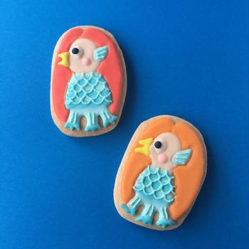 アマビエのアイシングクッキー