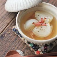 ■【ヤマキだし部】おだしで作る新玉ねぎと焦がしベーコンのスープ♪