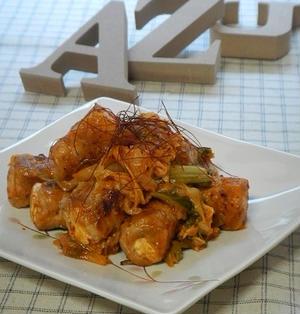 豆腐の肉巻き・豚キムチ