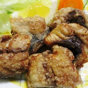 サバの唐揚げオールスパイス風味