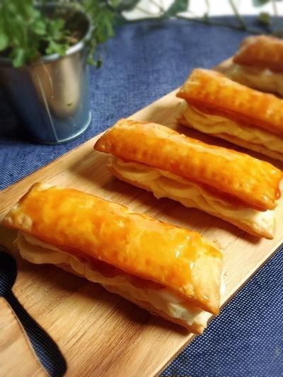 キャラメルコートでパリパリなバナナパイ