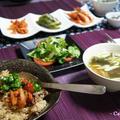 レシピはチョレギサラダ♪ ビビンバの予定が・・・まさかのΣ(゚Д゚ノ)ノェェ,,