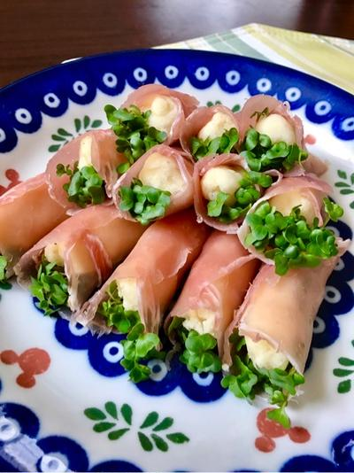 おもてなし料理にぴったり!マッシュポテト生ハム巻きレシピ(*^^*)