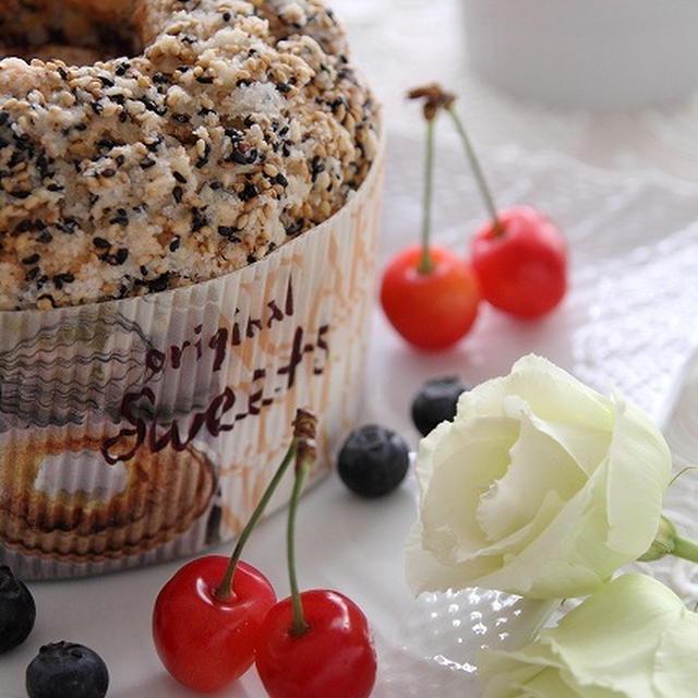 チョコ&くるみ カリカリセサミケーキ & キューブムース お茶&あずき