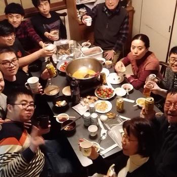 「アジアンロード」新年会のお知らせ
