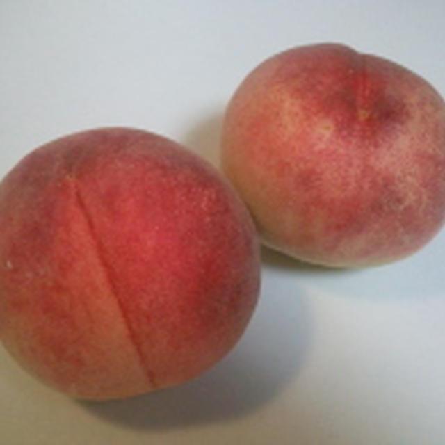 桃のフレッシュコンポート