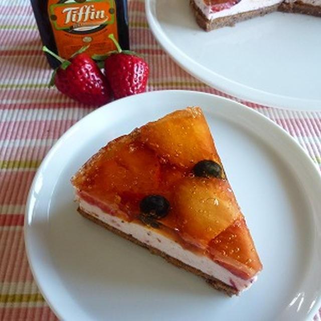いちごのシャンティクリームケーキ