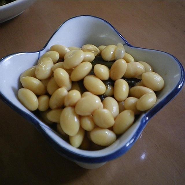 気づけば、豆豆の晩ご飯〜イソフラボン注入〜