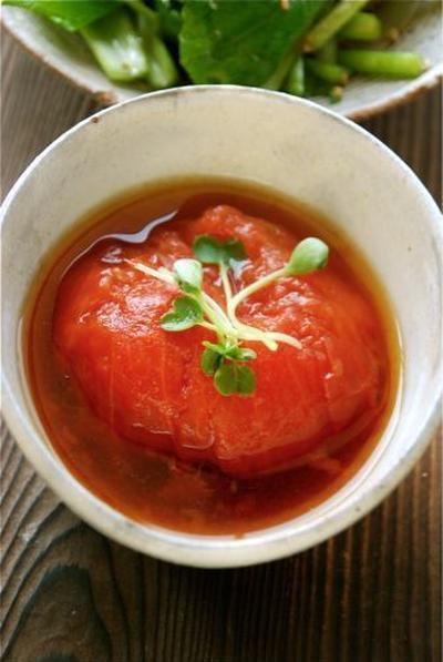 トマトの丸ごと煮